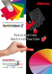 Brochure mimaki profile master